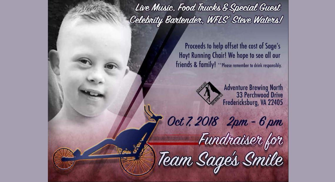 Fundraiser for Team Sage's Smile