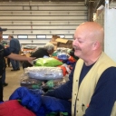 Tim Walker at the 2015 Coat Drive, Fire Station 11