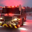 Fairfax County Engine 15 (Chantilly) our responding to emergency calls. Always open. #jonas
