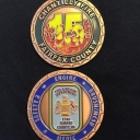 Fire Station 15 Challenge Coin - 2015