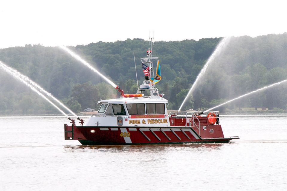 Fairfax County Fire Boat 420