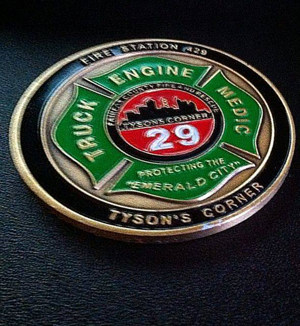 New challenge coins are in ...