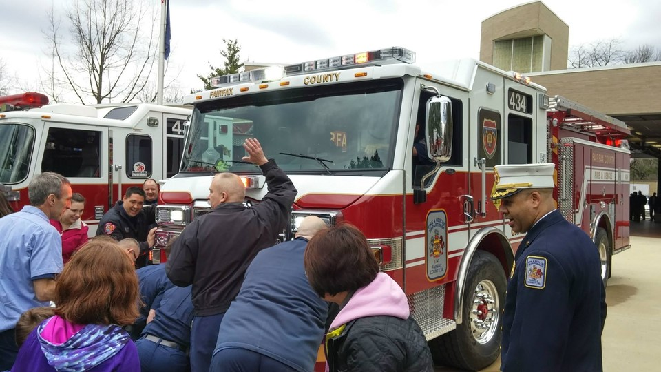 March 30th, 2015 - Fairfax County Fire and Rescue Department Celebrates the housing ceremony of E434, the 100th In Service Front Line Unit from Pierce Manufacturing Group. Photos provided by Captain Randy Bittinger