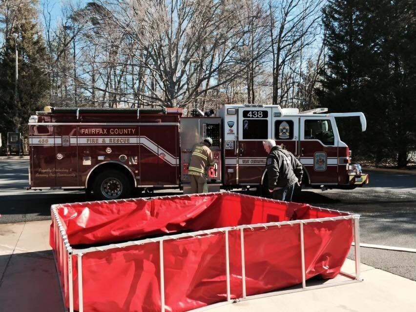 Drafting drill on a warm March afternoon in 2015 with Fire Station 16.