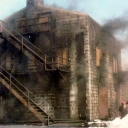 Old Burn Building