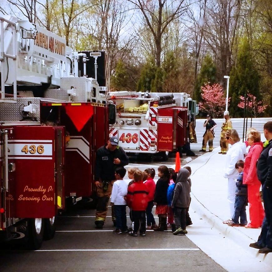 Fairfax County Fire Station 436 (Frying Pan) out in the community today giving children an exciting tour around the fire trucks! Remember when you did this as a kid?