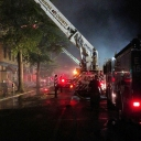 Tower 401 in D.C. Thursday night assisting with the hardware store fire.