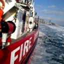 Elsewhere: Toronto Fire was icebreaking yesterday in the Toronto Harbour in order to keep the emergency lanes open. (12/28/13)