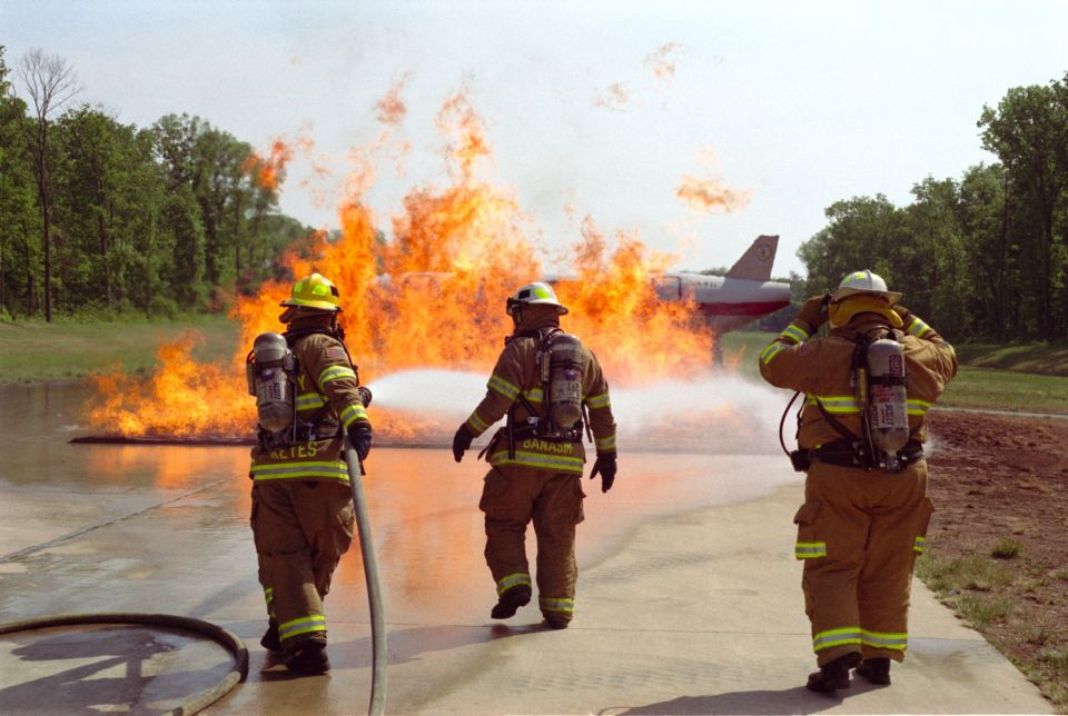 Drill at Dulles Airport
