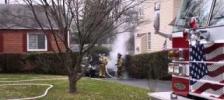 Car Fire - Annandale, Virginia    Dec. 16, 2013