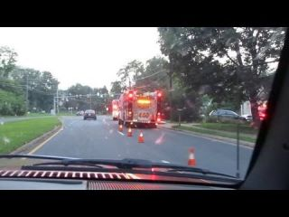 Fairfax County - Engine 440 and Medic 402 - Onscene - Part 1