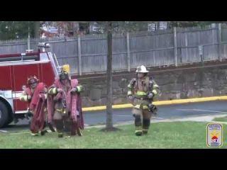 FIRE TRAINING - Hoseline Management - Long Lines