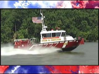 Fireboat 420 at Gunston