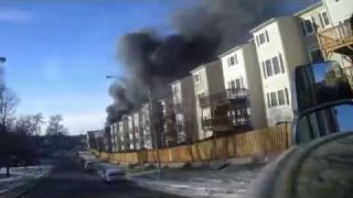 Fairfax County Two Alarm Townhouse Fire (Helmet Cams)