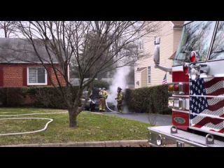 Car Fire - Annandale, Virginia    Dec. 16, 2013