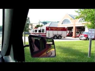 McLean Rescue 401, Engine 401, and Medic 401 (Fairfax County)