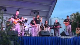 Downrange Army Band at Fairfax 2015 World Police and Fire Games