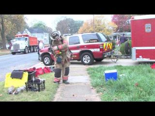 Live Fire Training - Fairfax County Fire & Rescue - Town of Vienna, VA