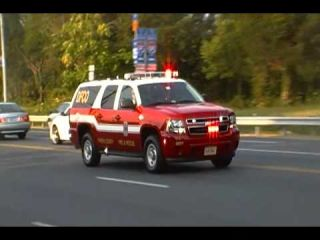 Fairfax County Fire Department Deputy Fire Cheif Of Operations Responding Code 3 7-5-12