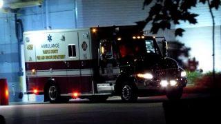 Fairfax County Medic 439 Responding