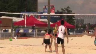 Beach Volleyball, 6/30/15, World Police and Fire Games