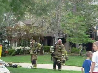 House Fire at Timberwood Way & Pinafore Ct, Herndon, VA 20171 04/14/2012 3:50 pm