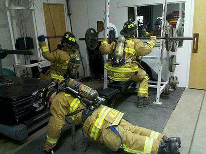 Keeping Fit at the Fire Station